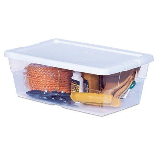 Sterilite 16428012 6QT Storage Box (Plastic Container With Lid compare prices)