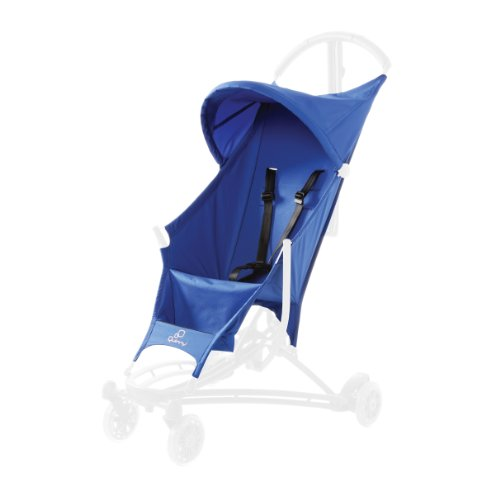 Quinny Yezz Stroller Seat Cover, Blue Track - 1
