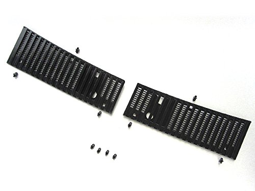 92-97 Nissan Hardbody Navara D21 Pair wiper cowl grill with clip truck pickup. (92 Nissan Hardbody Parts compare prices)