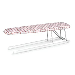 Polder 521-93H Basic Ironing Sleeve Board, Red Grid