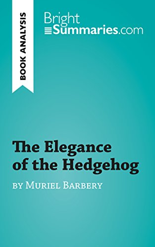 The Elegance of the Hedgehog by Muriel Barbery: Discussion ...