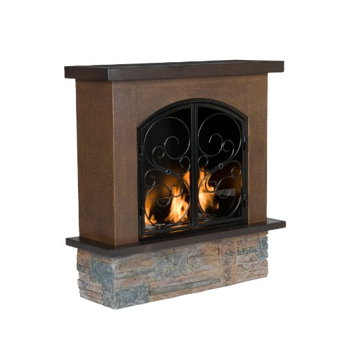 Best Review Of Sei Aspen Portable Indoor Outdoor Gel Fuel Fireplace Top Gas Fireplace Reviews