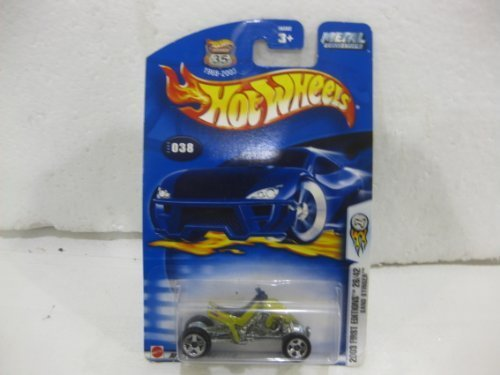 2003 First Edition #26 Of 42 Sand Stinger In Green Diecast 1:64 Scale Collector #38 By Hot Wheels - 1