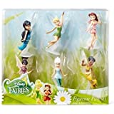 Disney Fairies 6-pc. Figure Set, Tinker Bell, Periwinkle, Iridessa, Rosetta, Silvermist and Vidia