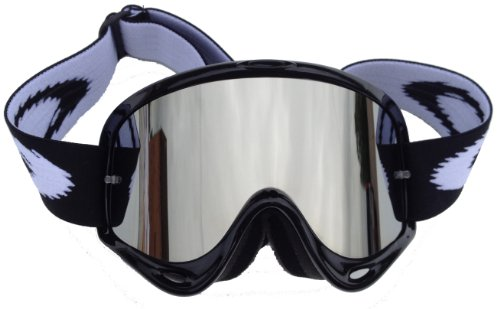 Goggle-Shop Chrome Mirror Lens to fit Oakley O Frame Motocross MX Goggles (Silver Mirrror)