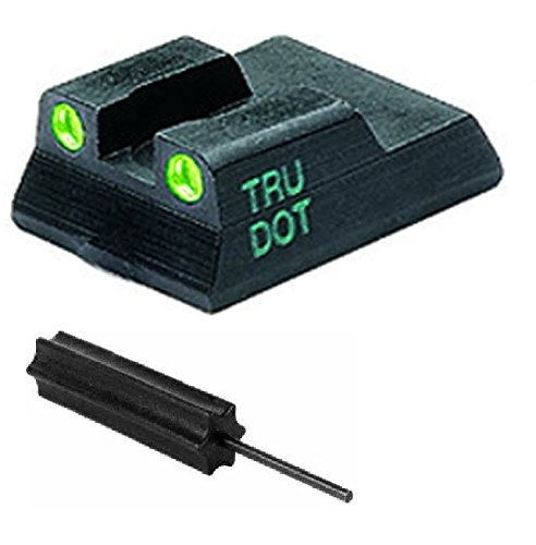 Meprolight The Mako Group Ml11515R.S Heckler & Koch Tru-Dot® Night Sight Rear Sight - Hk P7 M8 & M10 + Ultimate Arms Gear Pro Disassembly 3/32 Pin Punch Armorers Gunsmith Tool