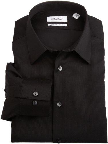 最畅销款,Calvin Klein Non-Iron Slim-Fit 男款修身免熨衬衫