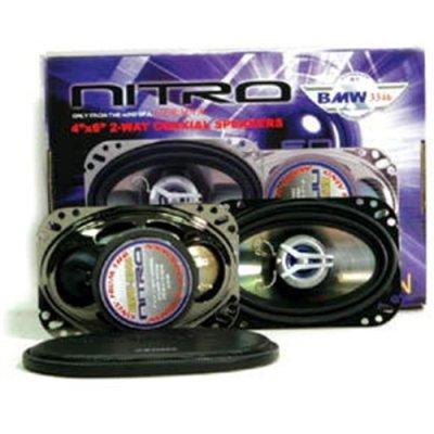Pair American Hi Fi Bmw3346 4X6 2 Way 500W Car Audio Speakers 500 Watt
