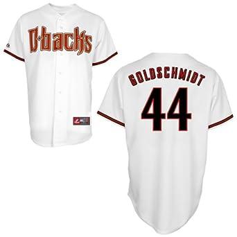 Paul Goldschmidt Arizona Diamondbacks Home Replica Jersey by Majestic by Majestic
