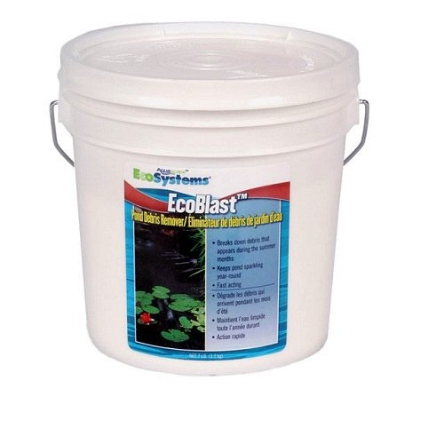 Aquascape ecoblast water garden pond string algae control 7 lb container - Water garden containers for sale ...