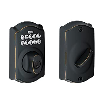 Experience the Freedom of Keyless Convenience  No more hiding keys under the doormat. No more losing, forgetting, or making extra keys time and time again. Step up to a more secure and flexible solution with a Schlage Residential Keypad Deadbolt. ...