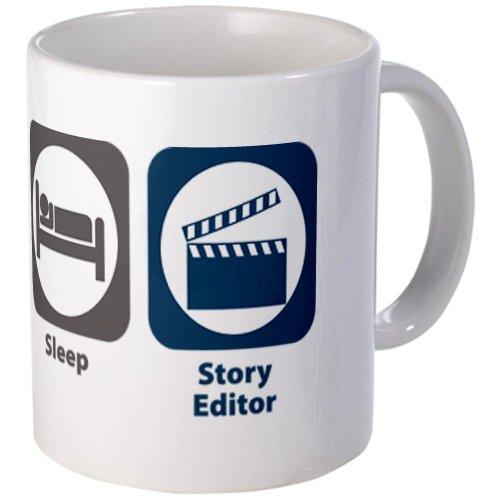 Cafepress Eat Sleep Story Editor Mug - Standard