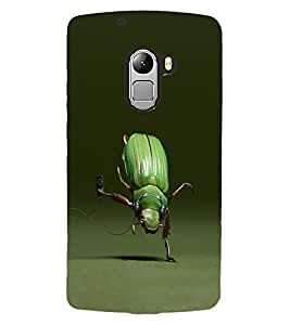 ColourCraft Funny Creature Design Back Case Cover for LENOVO VIBE K4 NOTE