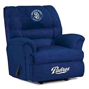 MLB San Diego Padres Big Daddy Microfiber Recliner by Imperial