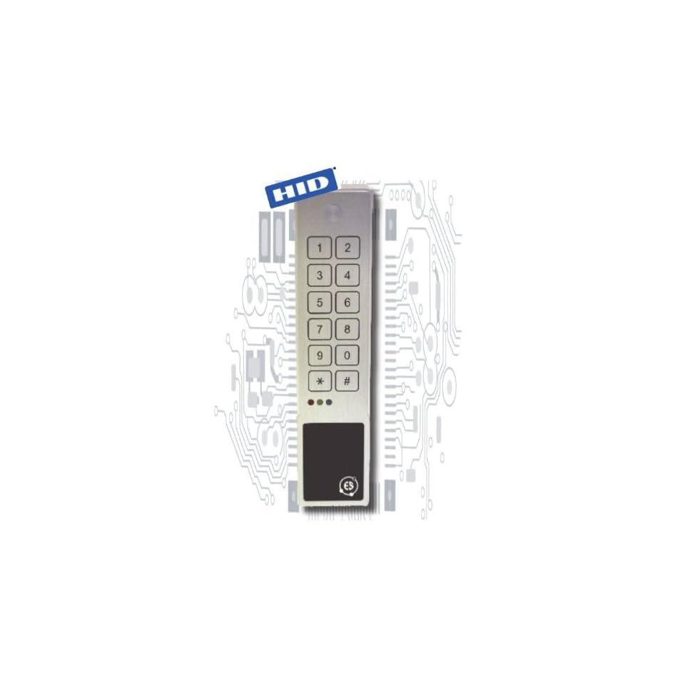 2x6 Rugged Slim 8 bit /26 bit Wiegand keypad and HID Prox
