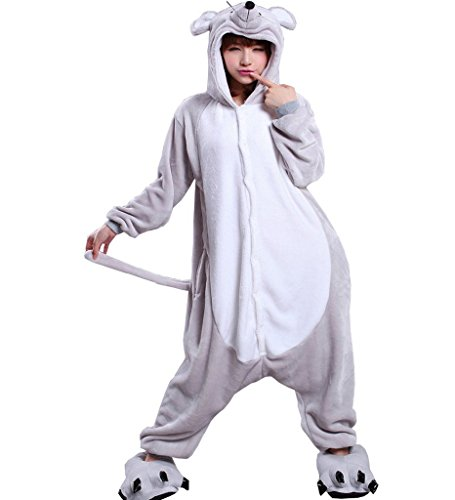[Adult Unisex Anime Cosplay Outfit Costume Onesies Pajamas Romper Clothing] (Role Reversal Halloween Costumes)