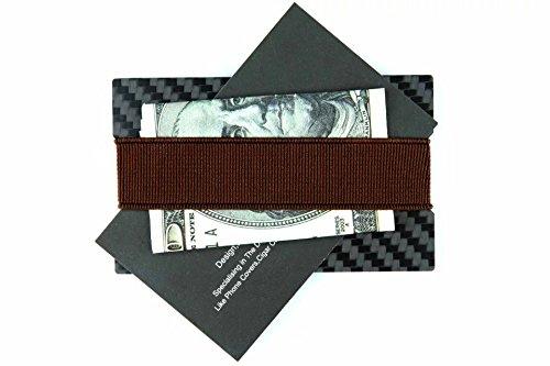 cl carbonlife tm carbon fiber money clip credit card holder slim wallet bottle opener square. Black Bedroom Furniture Sets. Home Design Ideas