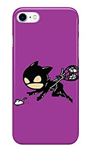 Dreambolic catwoman mouse catcher Back Cover for Apple iPhone 7