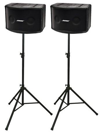 Bose 802 Iii Loudspeakers Package With Ultimate Support Speaker Stands