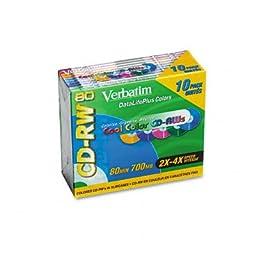 VER94325 - CD-RW Rewritable Discs