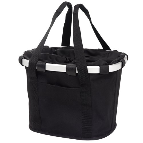 Solid Black Reisenthel Bike Basket - Your Carrybag on a Bicycle