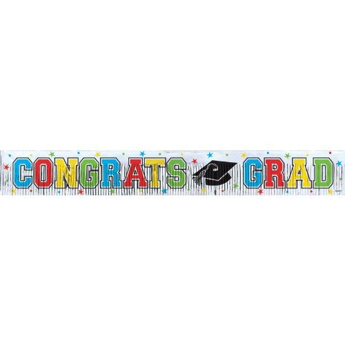 Graduation Fringed Banner 5ft