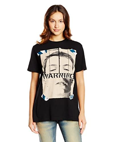 Diesel Camiseta Manga Corta T-Warnface Negro