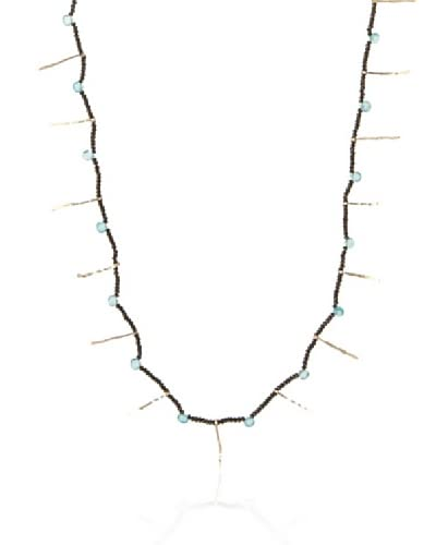 Eva Hanusova Long Spike Apatite Necklace