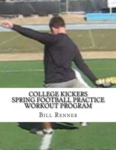 College Kickers Spring Football Practice Workout Program PDF