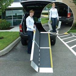 Ez-Access Trifold Ramp Advantage Series, 6 Feet, 38 Pound