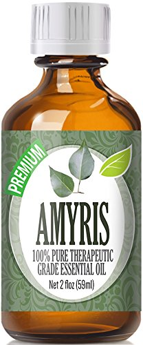 Amyris (60ml) 100% Pure, Best Therapeutic Grade Essential Oil - 60ml / 2 (oz) Ounces