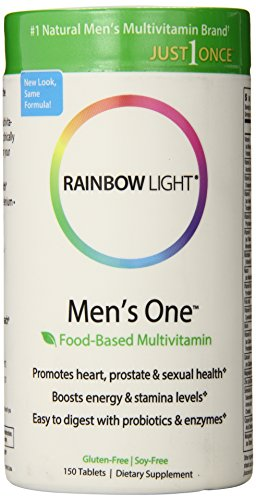 Rainbow Light, Men s One Multivitamin, 150 Count