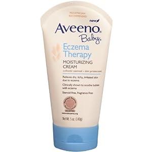 Aveeno Baby Eczema Therapy Moisturizing Cream, 5 Ounce