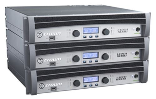 Crown IT12000HD HD I-Tech Series Power Amplifier Power Amp