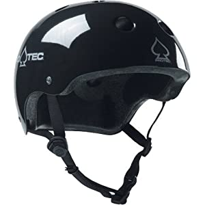 Protec Helmet Black(plus) Small Terry Liner Skate Helmets