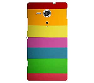 perfect print Back cover for Sony Xperia SP