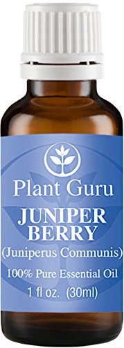 Juniper Berry Essential Oil. 30 ml (1oz) 100% Pure, Undiluted, Therapeutic Grade.