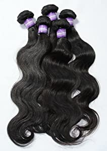 Good Quality 8-40 Inch Peruvian Virgin Hair Body Wave Real Human Hair sew in weave AAAAA grade 100g Per Bundle (14 inch, Natural black or 1B color for your choice)