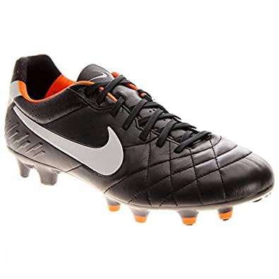 Nike Tiempo Legend IV Firm Ground Football Boots - 12 - Black