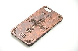 Genuine Leather iphone 6S plus wood case iphone 6 /6s wood case hand made gift iPhone SE Case