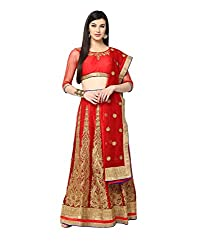 Yepme Hailly Lehenga Choli Set - Red -- YPMLEHG0091_Free Size