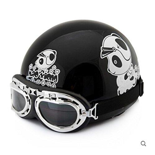 YOMI Harley motorcycle helmet summer helmet men electric car helmet half helmet motorcycle helmet Korea
