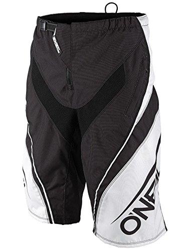 Pantaloni Corti Mtb Oneal 2017 Element Fr Blocker Nero-Bianco (34 Vita = Eu 46 , Nero)