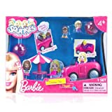 Squinkies Barbie Convertible Dream Car Playset