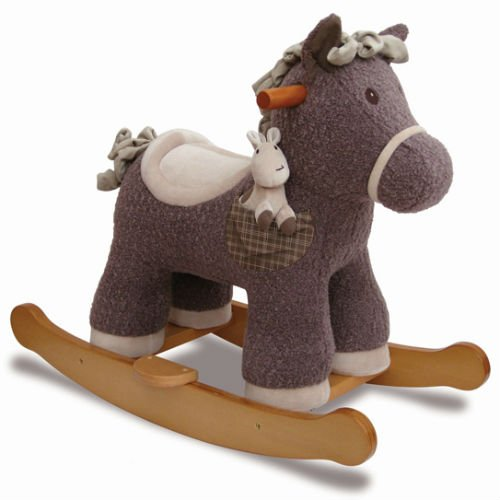 Baby Rocking Horse with detachable footplates