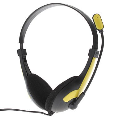 Ergonomic Hi-Fi Pc Headphone With Microphone For Gaming & Skype