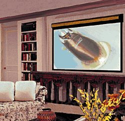 Draper 116023 Surface Mount 16:9 Projection Screen 79x140 (161 Diagonal)