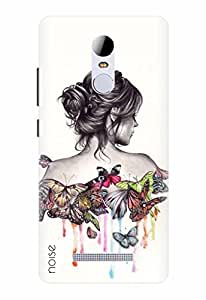 Noise Designer Phone Case / Cover for Xiaomi Redmi Note 3 / Butterflies Design / Patterns & Ethnic - Multicolor (GD-190)