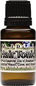 Hair Tonic - 100% Pure Essential Oil Hair and Scalp Elixir 15ml