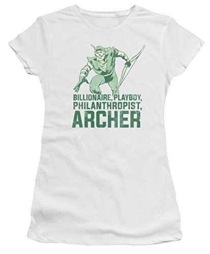 DC Green Arrow Archer Ladies Junior Fit T-Shirt